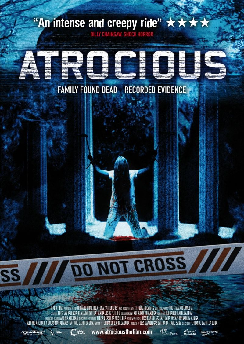 Atrocious 2010 Upcoming Horror Movies Classic Horror Movies Posters Horror Movies