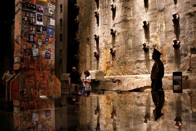 Interior del 9/11 Memorial Museum, el museo del 11S en Nueva York