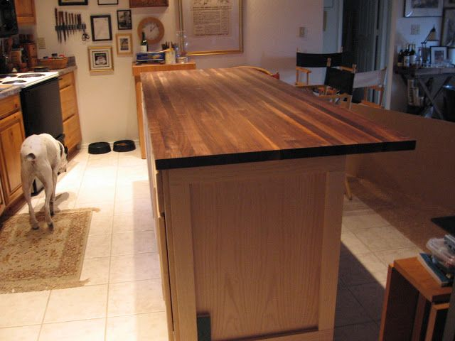 great idea to use in-stock cabinets from Lowe\'s to build your own ...