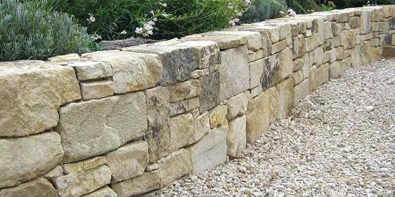 How Much Does Landscaping Stone Cost Natural Stone Stone Retaining