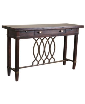 $699.00 Blaze Console Table, Flip Top Sofa Table