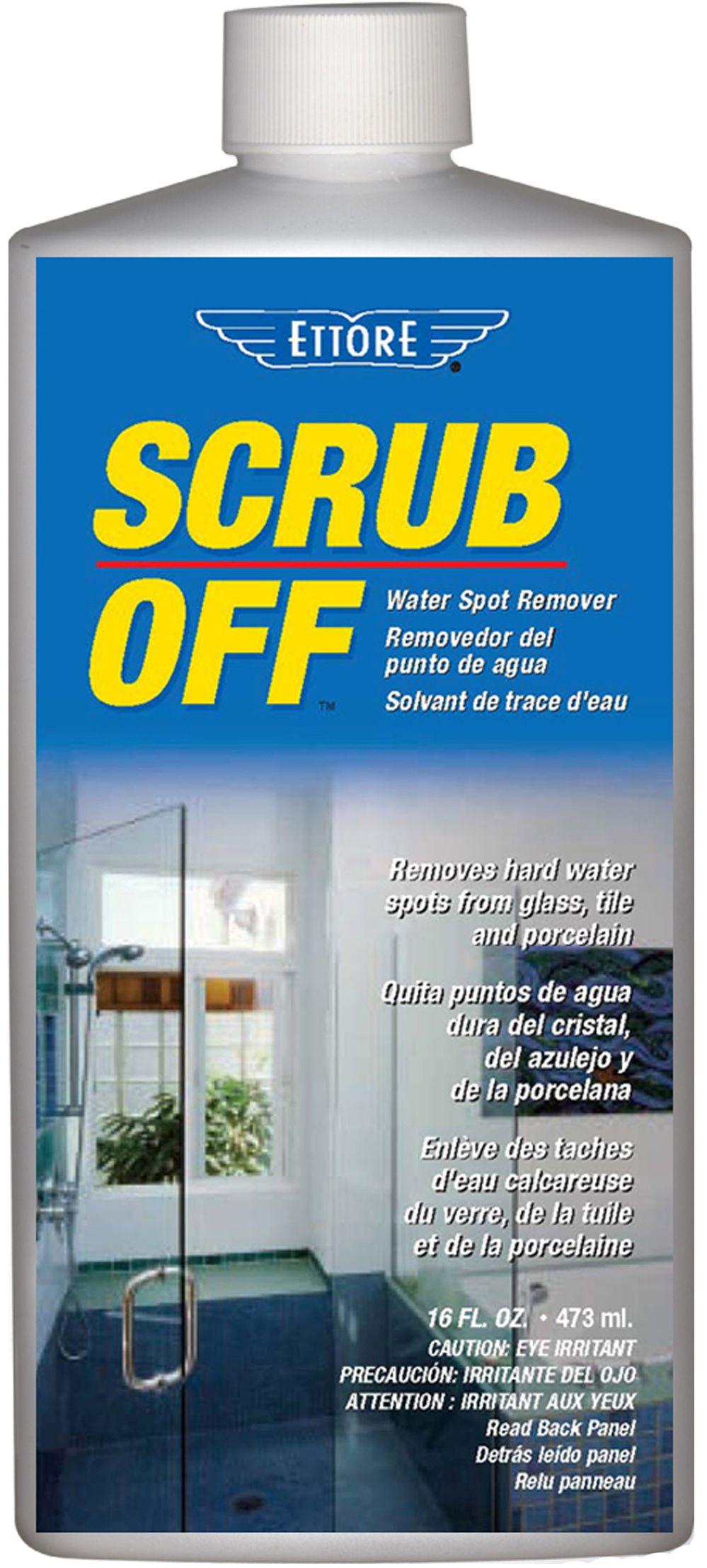 Ettore Scrub Off Spot Remover Removes Stubborn Hard Water Stains