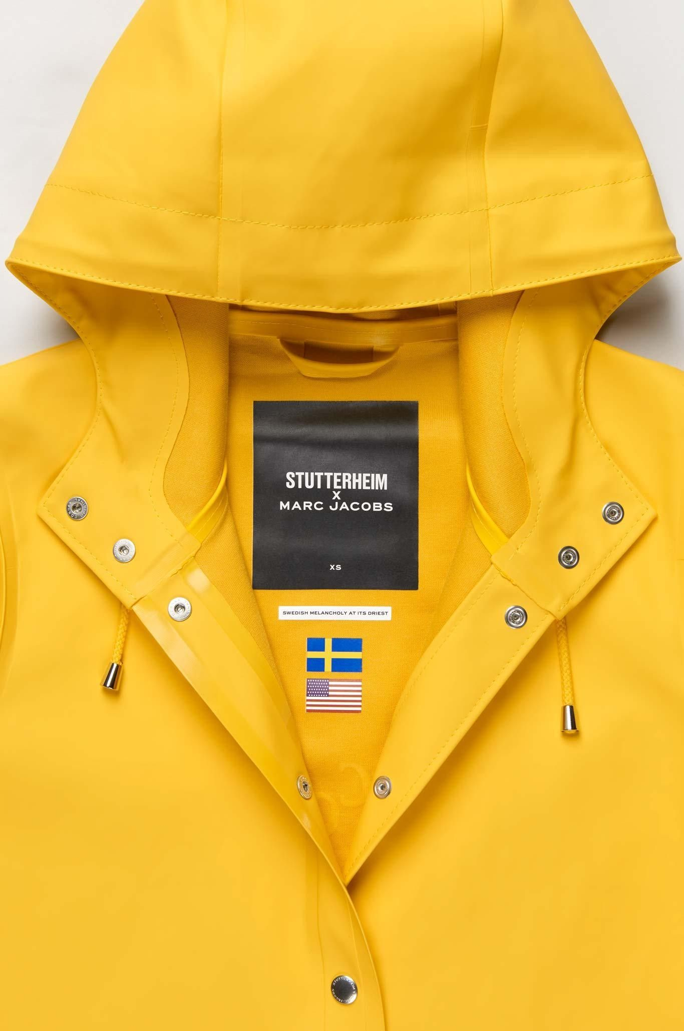 Unisex Mens Womens Rain Coat Waterproof Windbreaker Hooded Jacket with Detachable Transparent Baffle