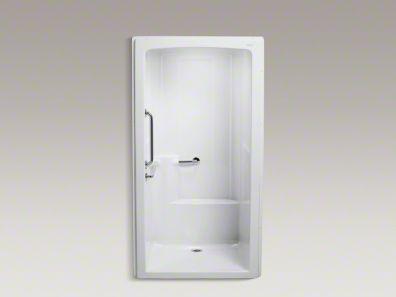 Kohler Ada Shower Ada Shower Shower Stall Locker Storage