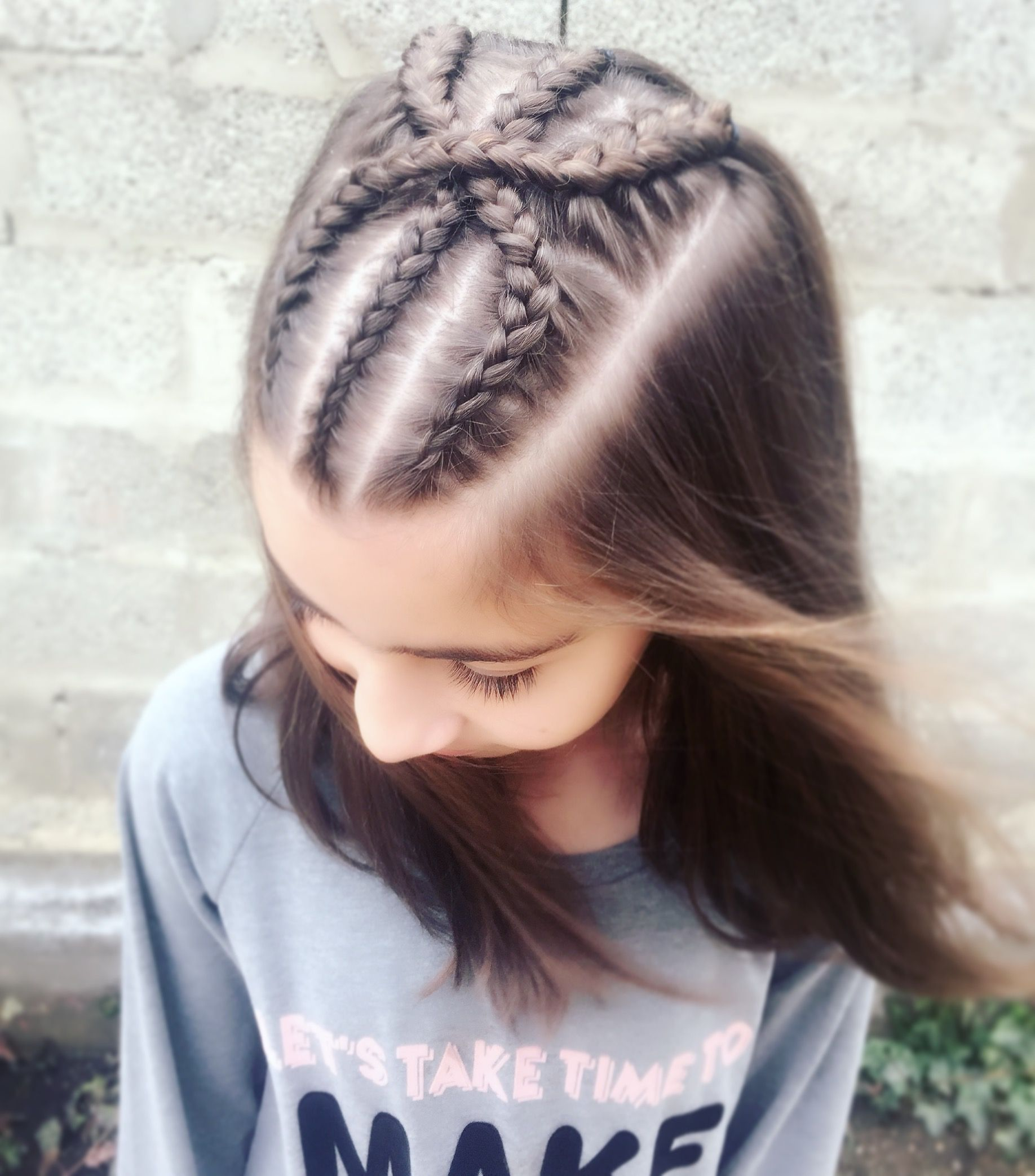 Pin By Alexandra On Braids Hair Styles Kids Hairstyles Braided Hairstyles