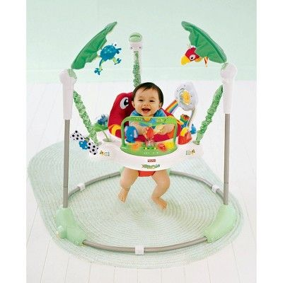 many choices of new arrive top style Fisher-Price Jumperoo - Rainforest Friends, Green/White ...