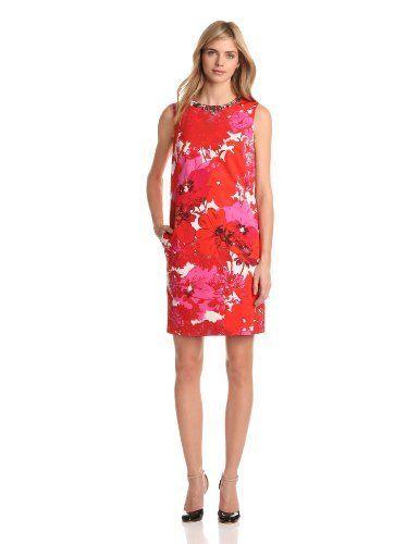 Jones New York Women's Embellished Sleeveless Shift Dress, Multi, 16 Jones New York,http://www.amazon.com/dp/B00B2JIH62/ref=cm_sw_r_pi_dp_5Z5srb1SJZC40ESR