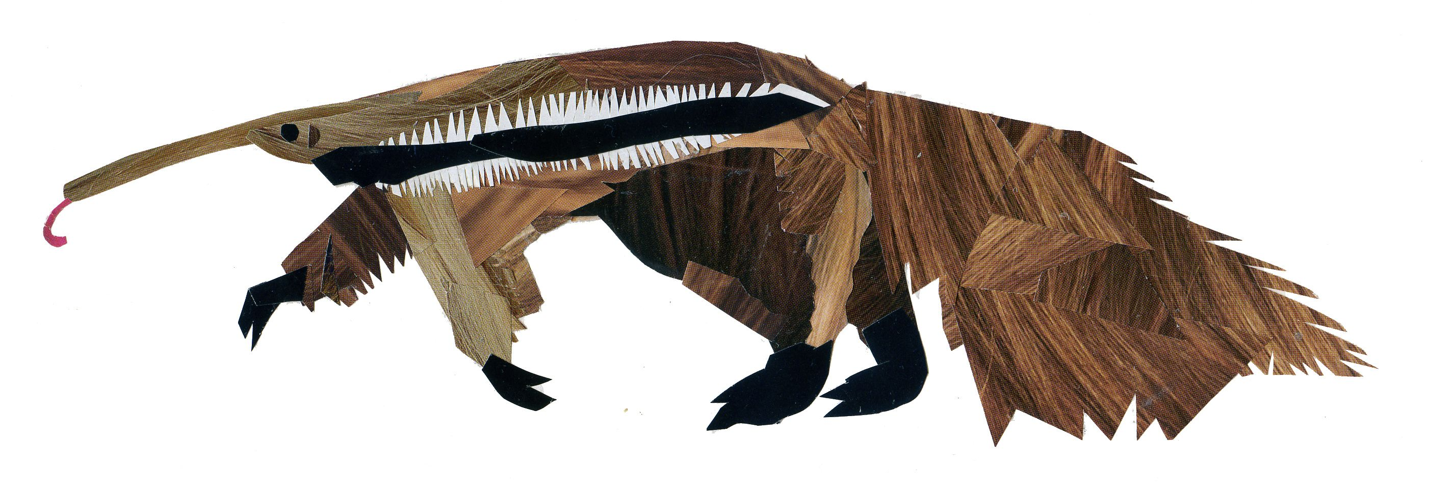 The Anteater from Roald Dahl's 'Dirty Beasts' - Holly T Burrows