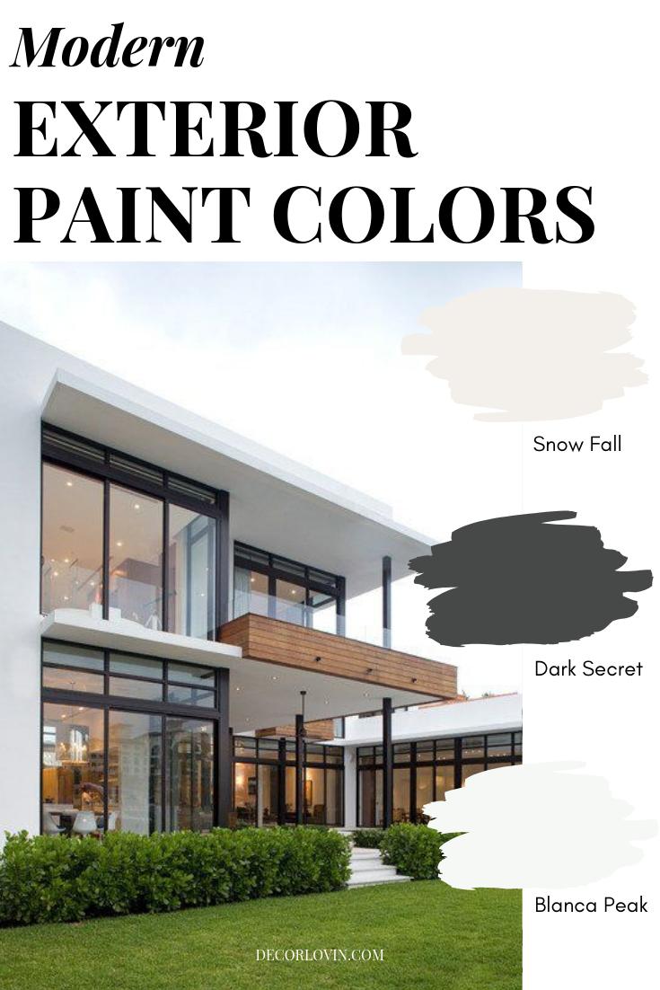 Modern Exterior Paint Colors Exterior Paint Colors Modern Exterior Exterior Paint
