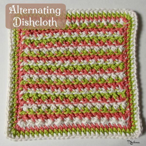 Alternating Dishcloth | Pequeños