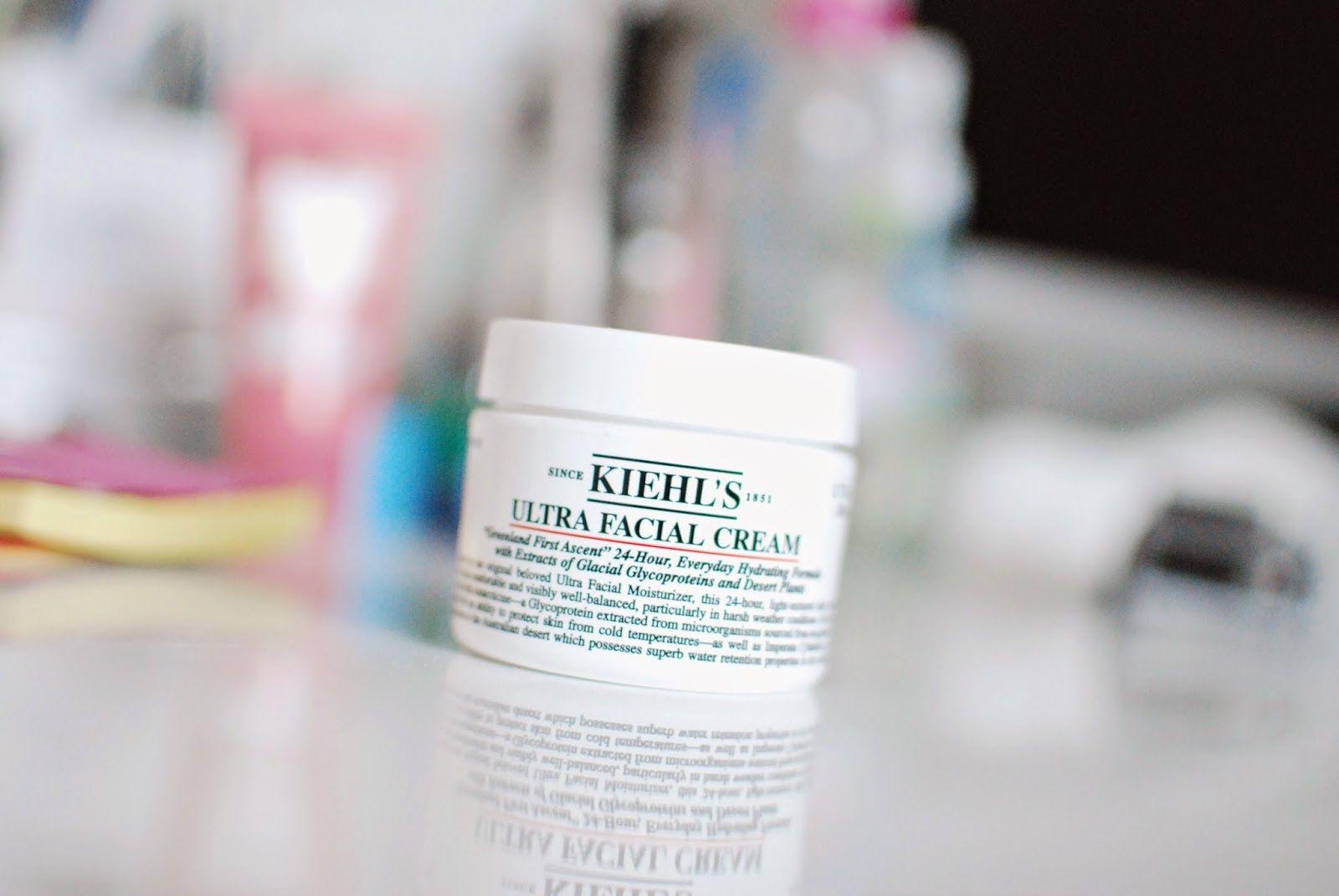 Kiehl's Ultra Facial Cream review (for ultra dry skin) #kiehls #skincare #beauty #bblogger