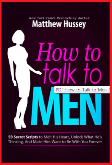 How To Talk To Man Hussey Pdf