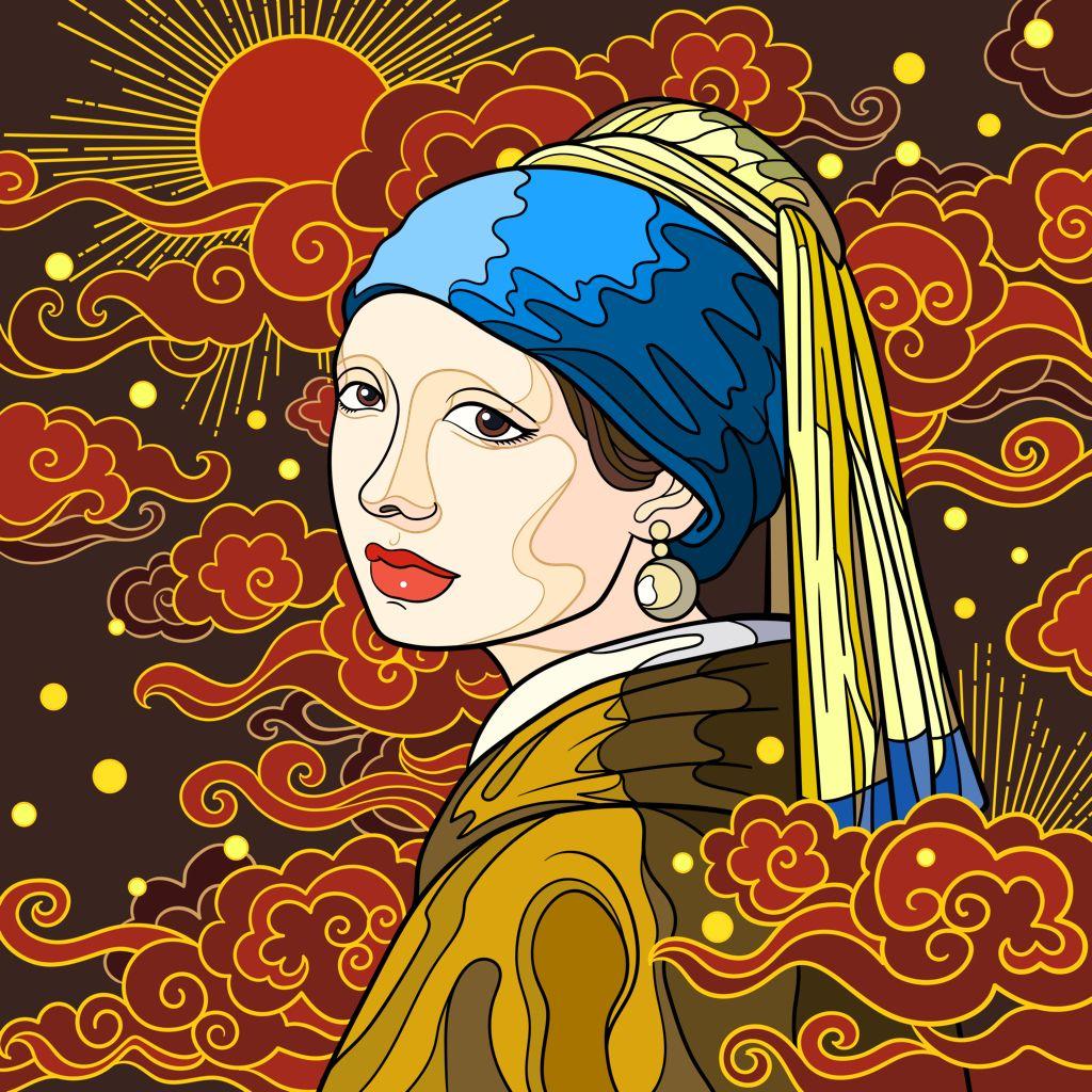 Épinglé par MamZelle sur Number painting Posca