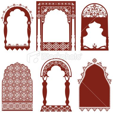 A Collection Of Ornate Arched Windows Featuring Carved Floral Indian Window Design Arched Windows Pooja Room Door Design