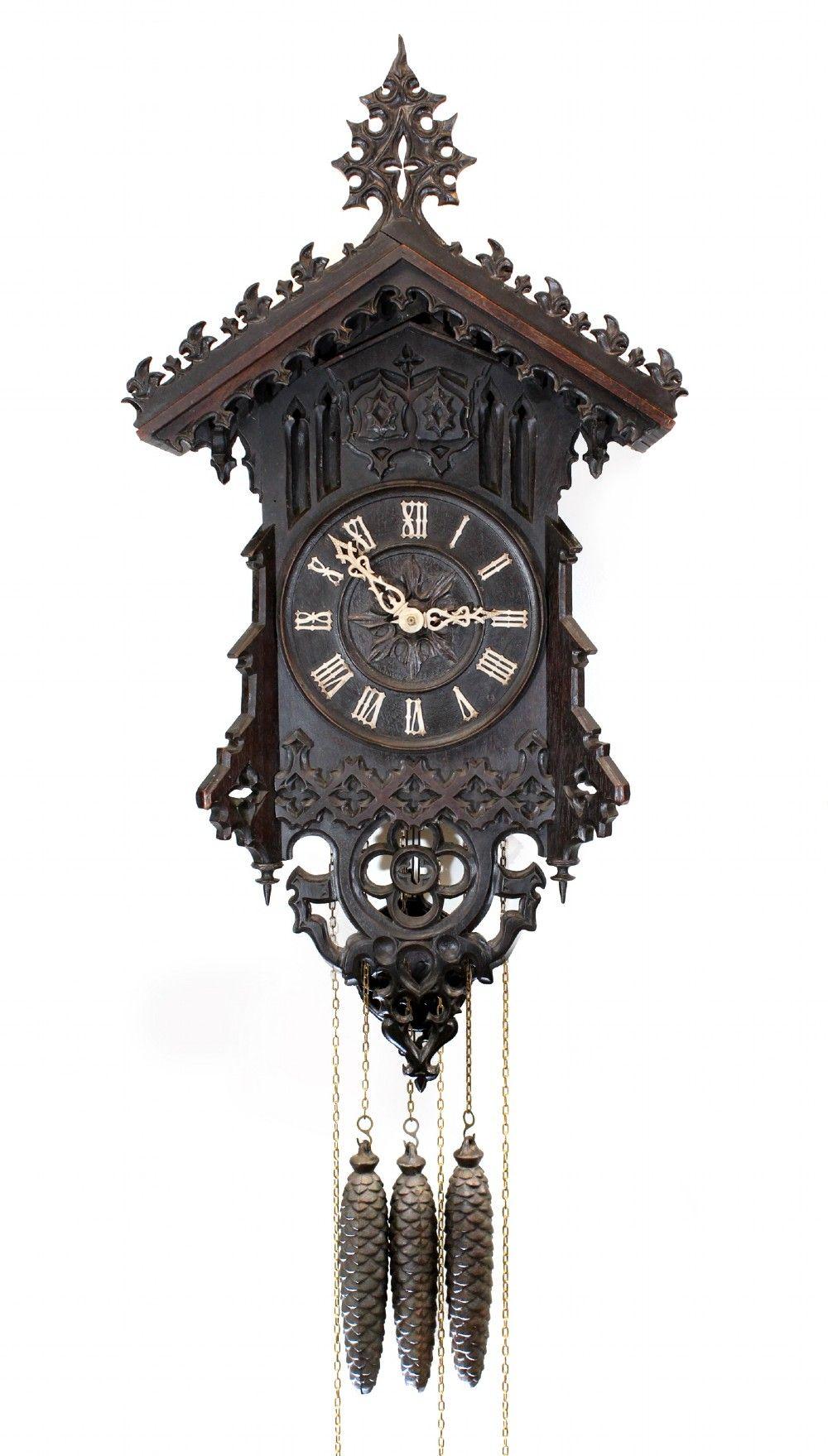 Beha Quarter Striking Cuckoo And Quail Clock 383288 Sellingantiques Co Uk Relojes De Pared Relojes De Pared Antiguos Reloj De Cuco