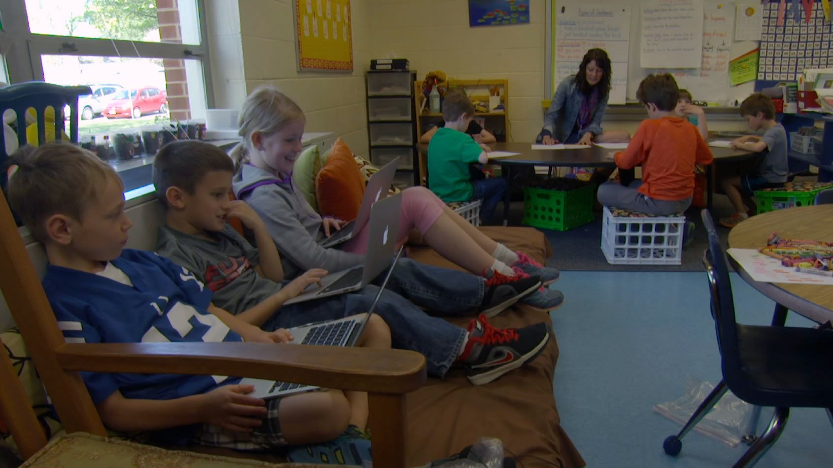 Flexible Seating Elevates Student Engagement