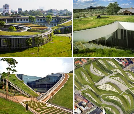 Walkable Green Roofs Main. Architecture ...