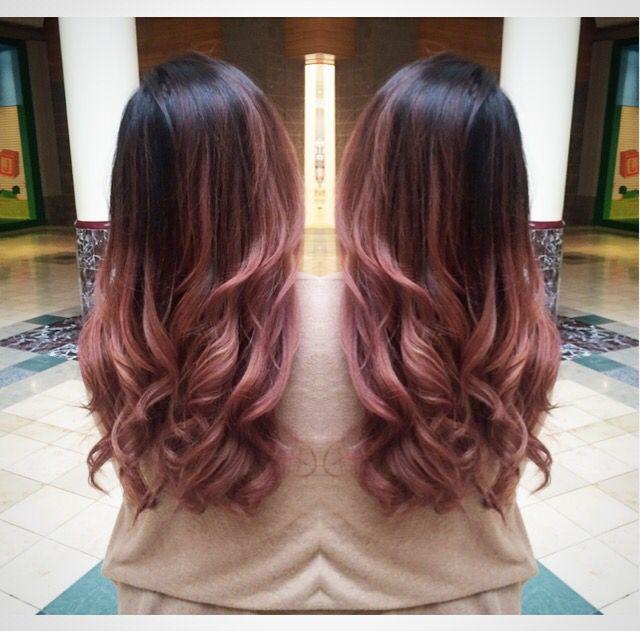 Pinterest Duckybleu Hair Styles Pink Ombre Hair Ombre Hair