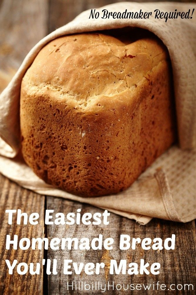 Family Bread | Best homemade bread recipe, Yeast free ...