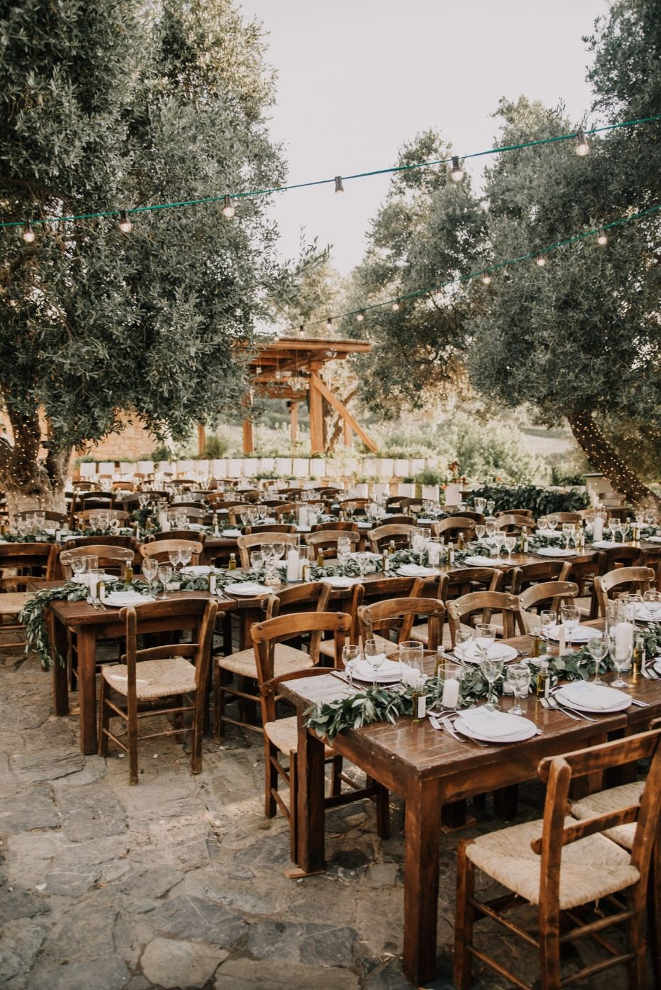 Natural And Rustic Outdoor Wedding On The Island Of Crete Rustic