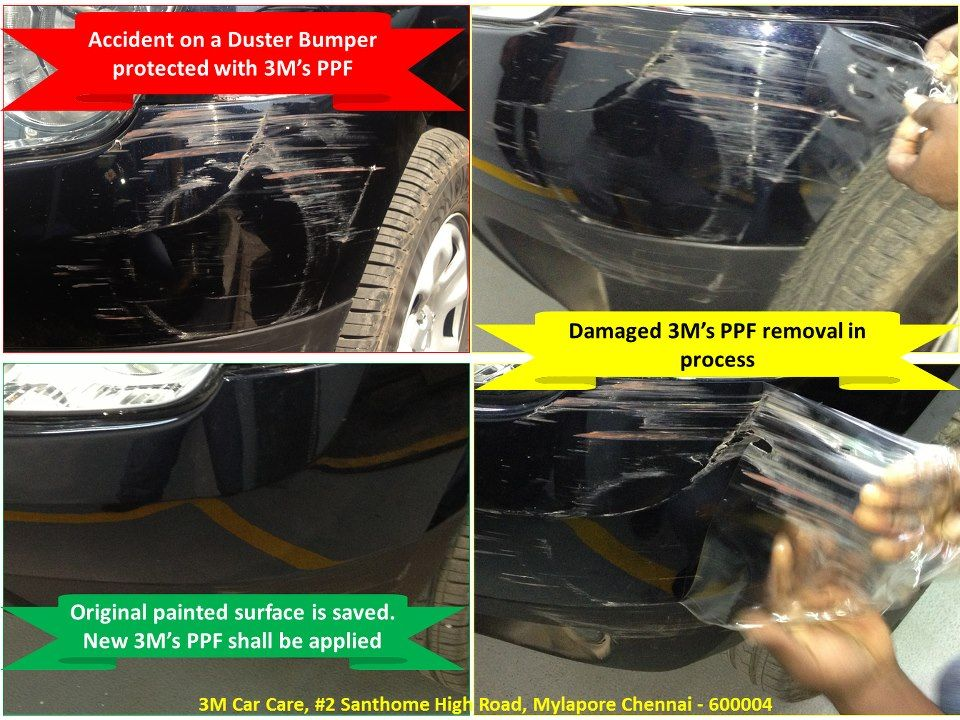 How paint protection film helps your car from scratches