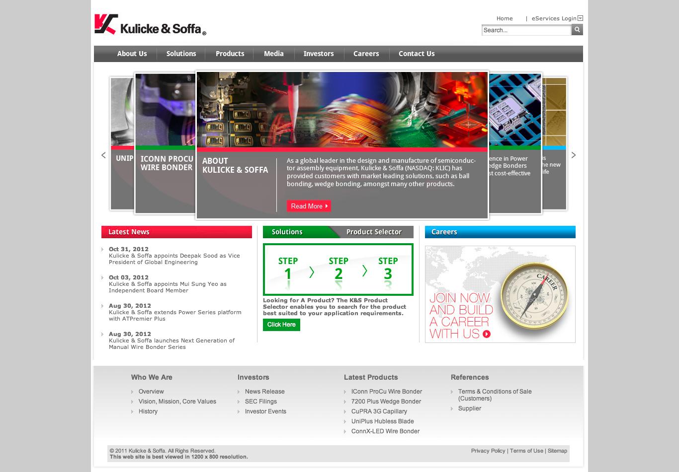 Http Www Kns Com Pages Home Aspx Web Design Inspiration Web Design Design