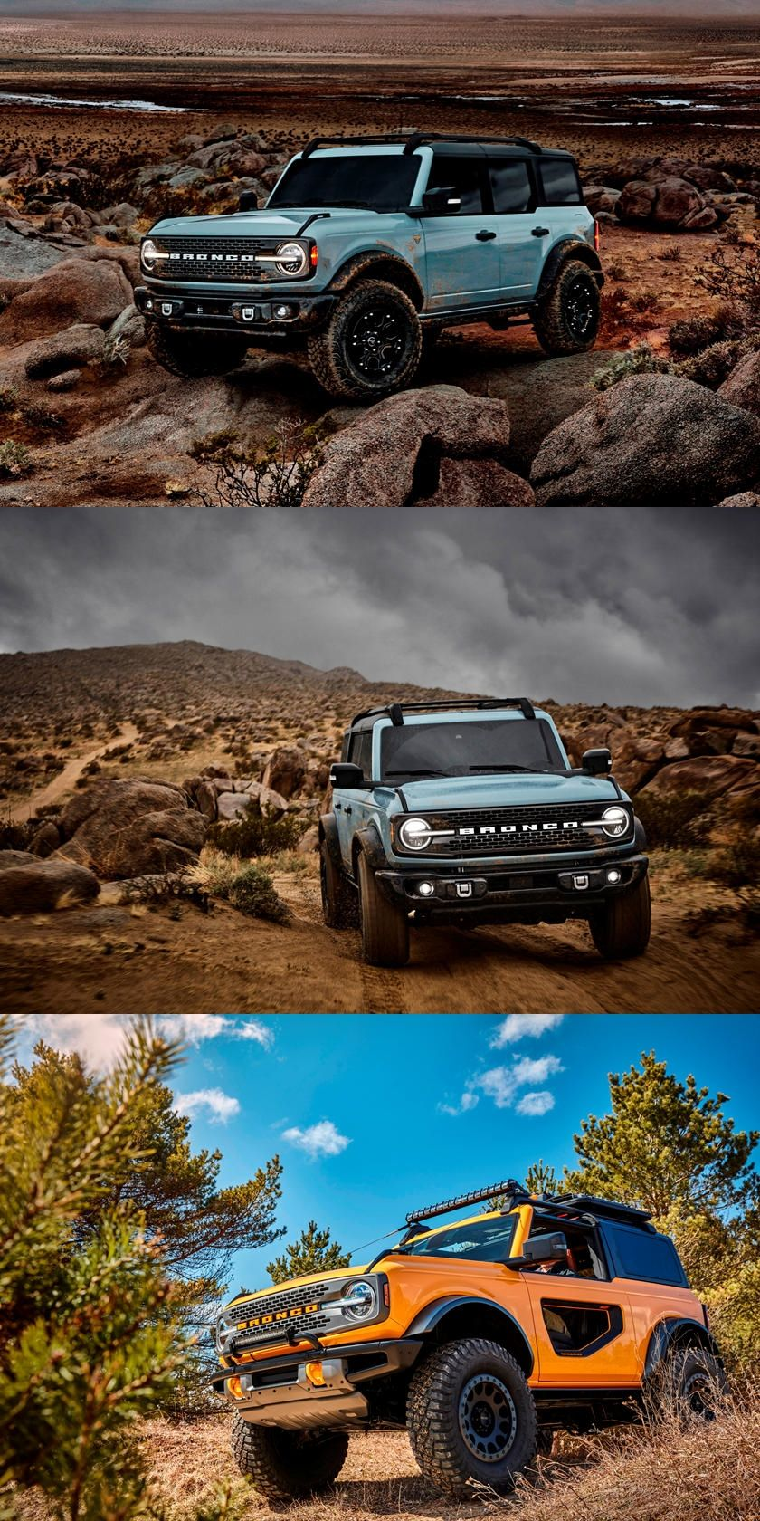 the 2021 ford bronco is an enormous hit no surprises on new paint color for 2021 id=68492