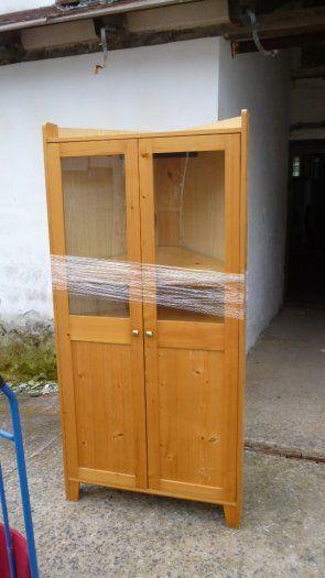 Rohová skříň - vitrína - Jablonec nad Nisou, prodám NÁBYTEK - wohnzimmerschrank zu verschenken