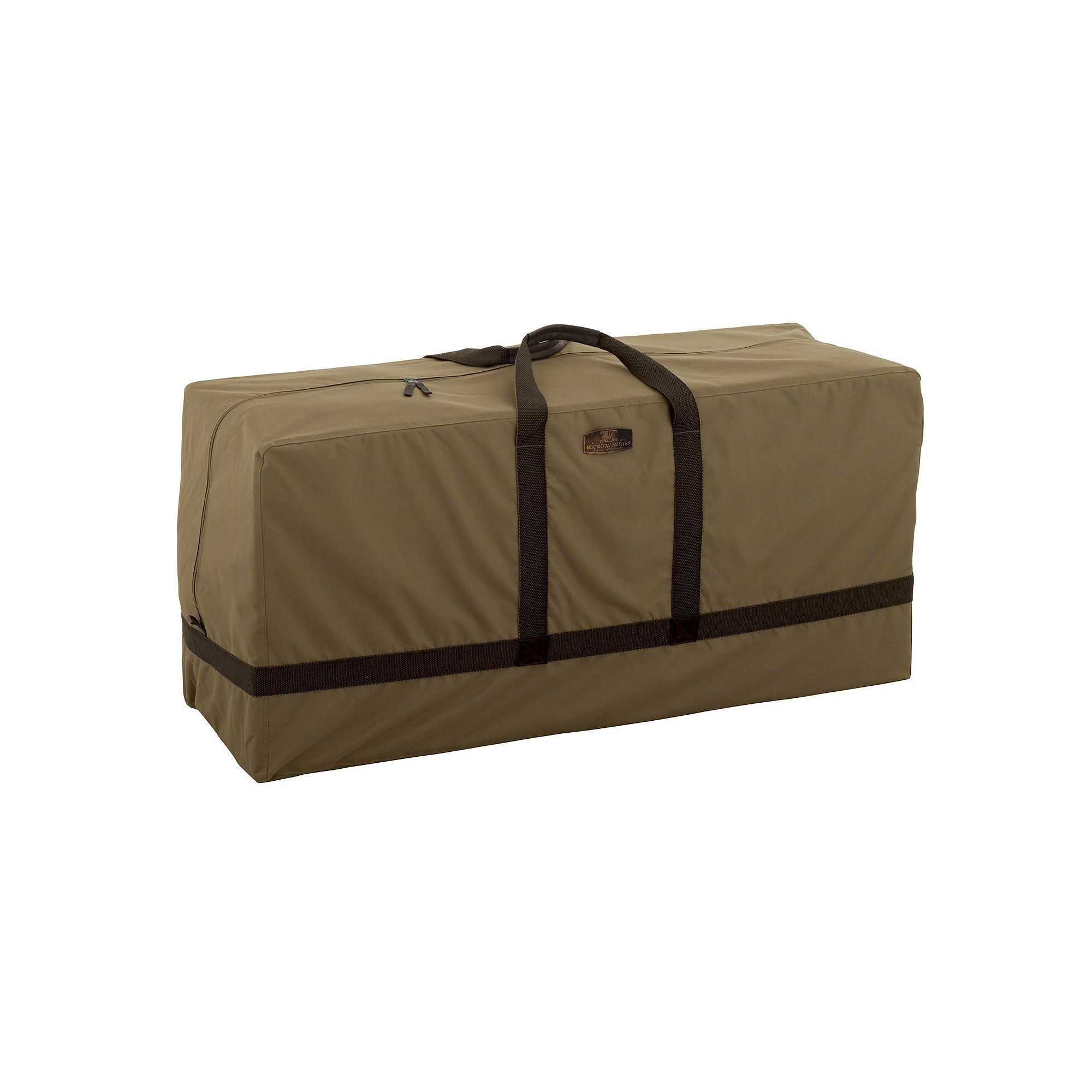 Hickory Patio Cushion Storage Bag, Brown