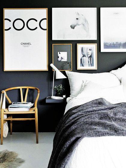 eure bilderwand wirkt wesentlich harmonischer wenn die. Black Bedroom Furniture Sets. Home Design Ideas