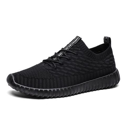 joomra brand 2018 new causal breathable mesh shoes male