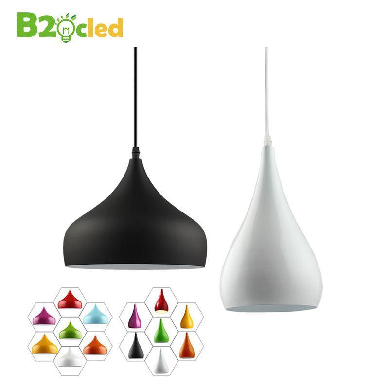 Pas cher Mode simple et moderne led pendentif lumière lampe en