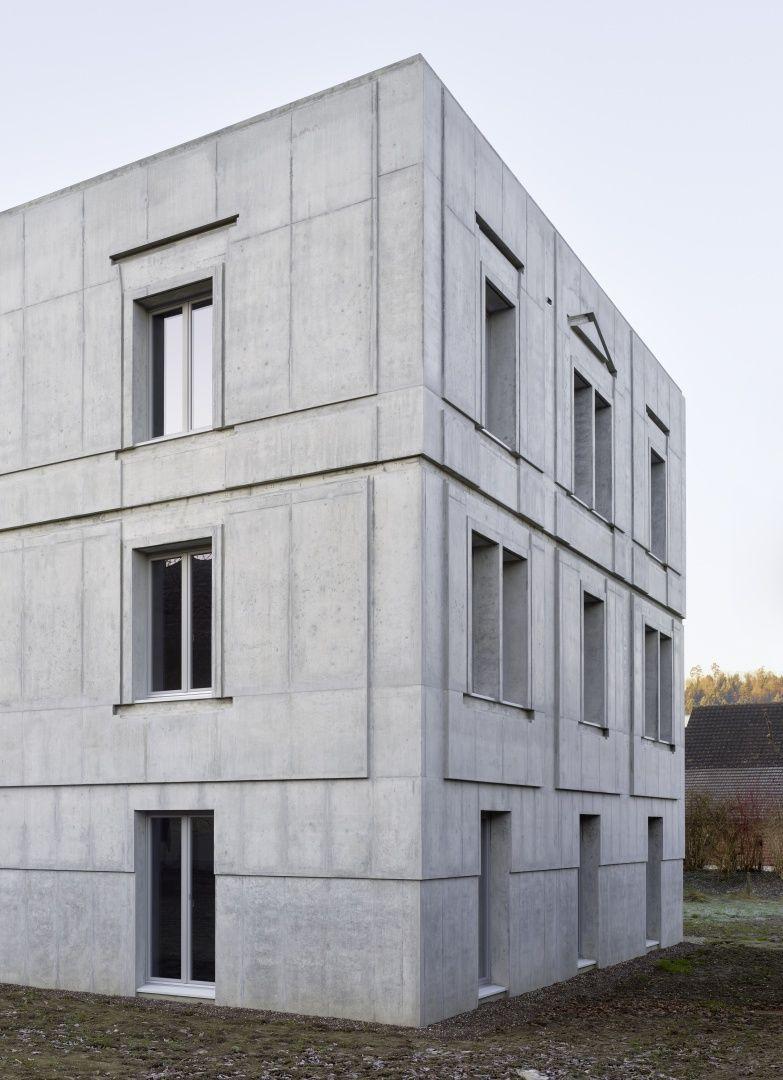 Architekt Emsdetten ken architekten housing building schöftland 4 exterior zoom