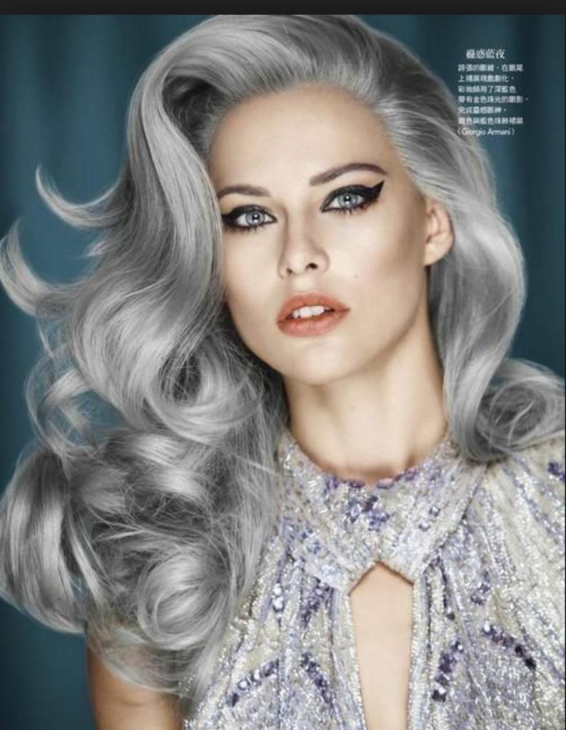Platinumgreyhairplatinumgrayhairxpng - Platinum hairstyles