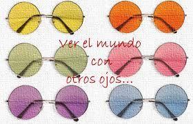 Resultado de imagen de gafas de colores