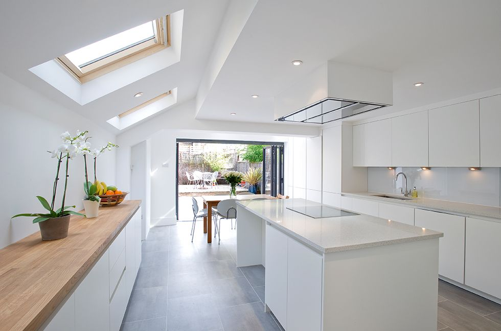 White Kitchen Extensions kitchen design side return - google search | kitchen | pinterest
