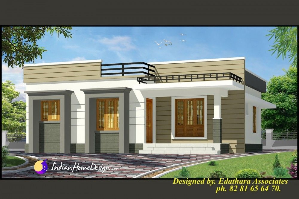 8b40048a2973e7584f23495fb3a2cdf6 - Download Small Home Front Design Single Floor  Images