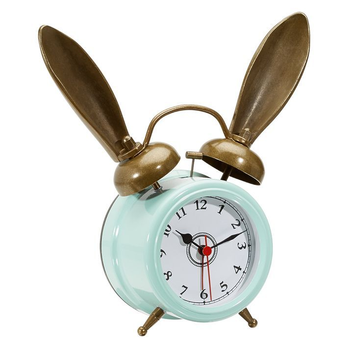 The Emily Amp Meritt Bunny Alarm Clocks Bedroom Clocks