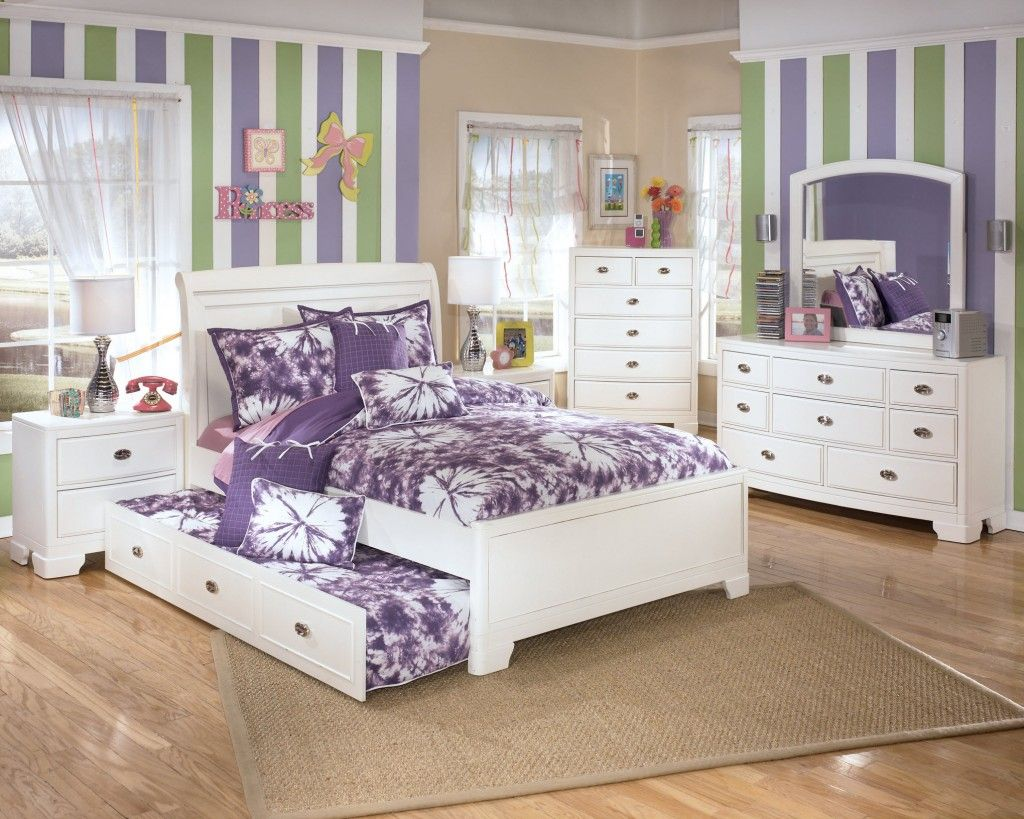 Ashley furniture kids bedroom sets8 house pinterest for Childrens bedroom ideas girls
