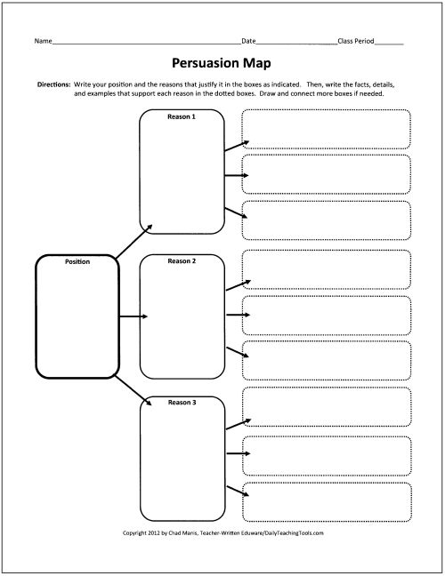 This site has some great graphic organizers. I'd use these