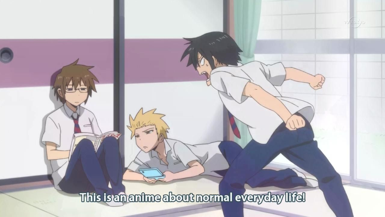 A Review of Danshi Kōkōsei no Nichijō [Daily Lives of High School ...