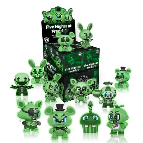 Five Nights at Freddy's Glow Mystery Mini : Case of 12