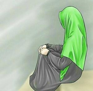 Kumpulan Gambar DP BBM Wanita Muslimah Berhijab Syar