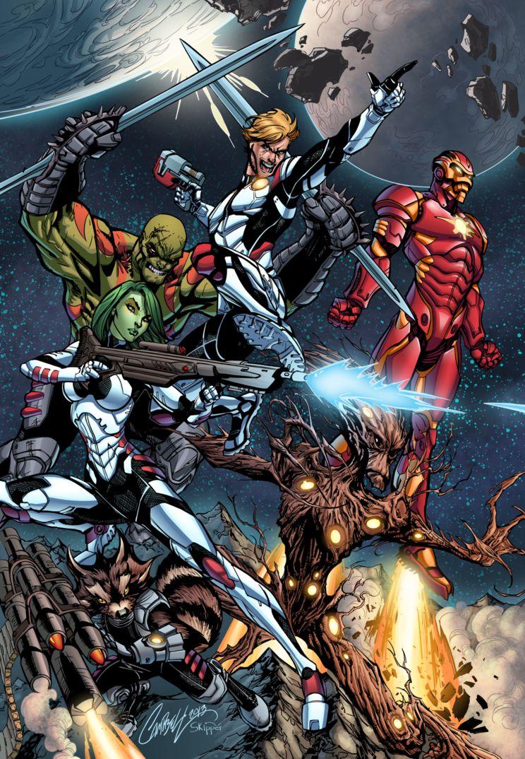 Marvel Comics lançará prelúdio de Guardiões da Galáxia em