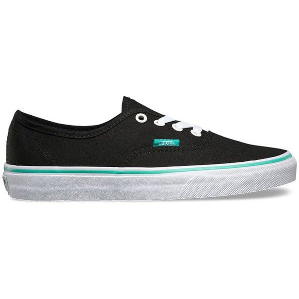 Vans Iridescent Eyelets Authentic ($50) ❤ liked on Polyvore