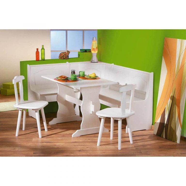 Eckbank Weiss Eckbankgruppe Bank Esstisch 2 Stuhle Real Furniture Modern