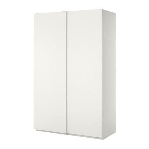 Pax Wardrobe White Hasvik White Shrub Oak International