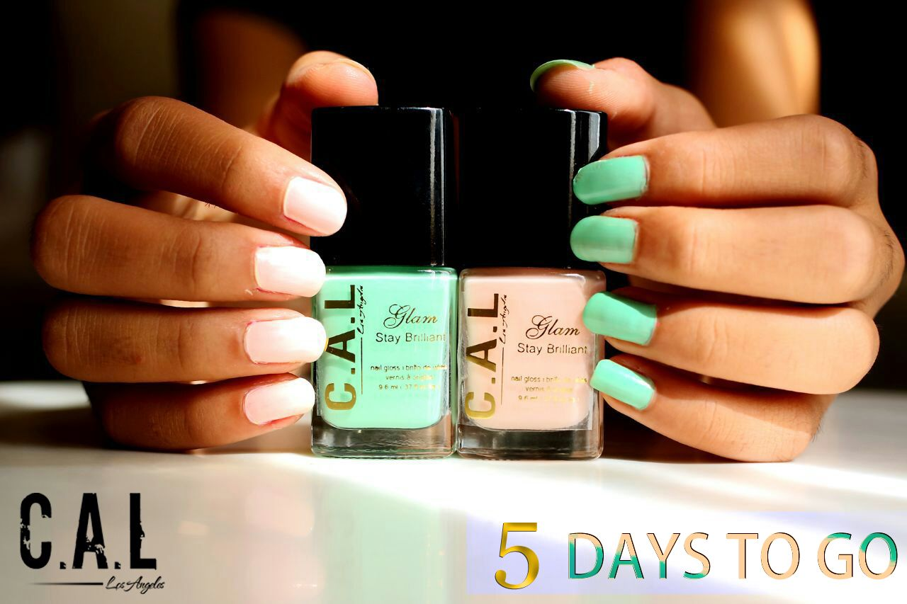 5 Days to go. !! CAL # Nails
