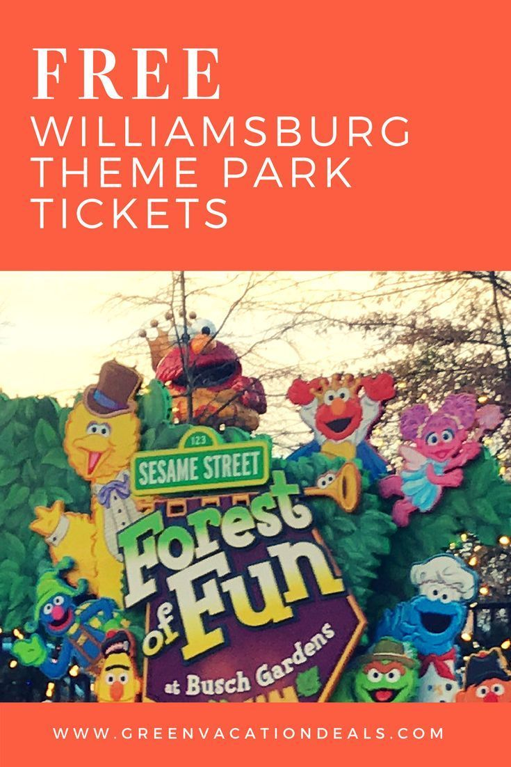 Free Busch Gardens Water Country USA Williamsburg Tickets | Vacation Ideas,  Williamsburg Virginia And Free Admission