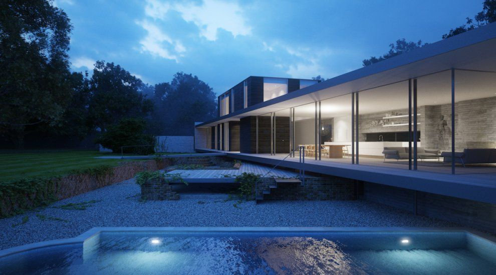 Private House, Suffolk - A project by Strom Architects #architecture